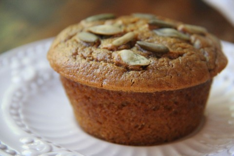 Grain-Free Maple Pumpkin Muffins