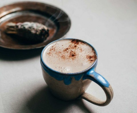No-Recipe Cozy Vegan Latte