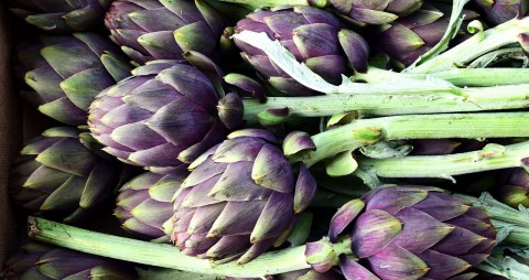 Baby artichokes! A treasure house of nutrients, fiber and flavor