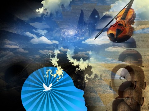 music-of-mind-violin-picture-id1018435994