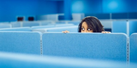 office-worker-hiding-picture-id166231644