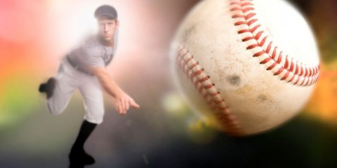 baseball-player-throwing-a-ball-picture-id108220197