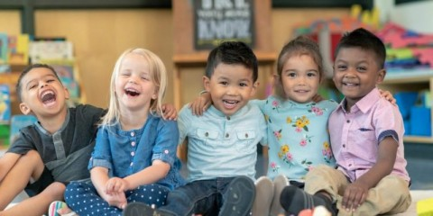 group-of-smiling-preschool-students-picture-id1168223108