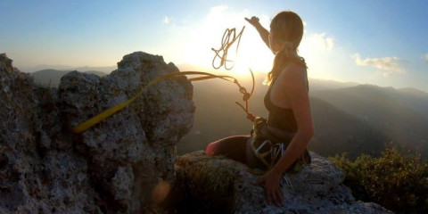 young-woman-prepares-to-descend
